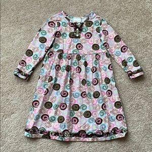 Hanna Anderson girls dress sz 110 cm